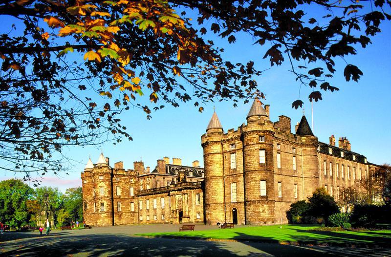 Edinburgh Schloss Holyrood | ENG90100