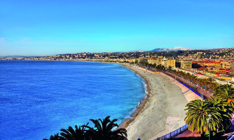Nizza, Strandpromenade | NCE11710