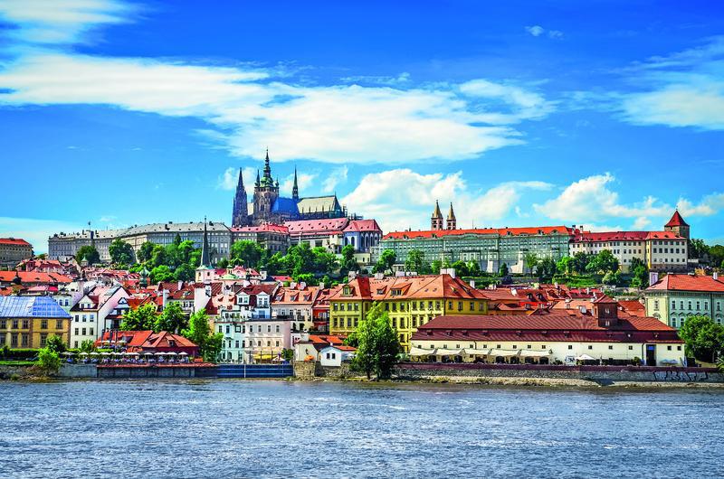 Tschechien Prag Hradschin Burg | ELB11800