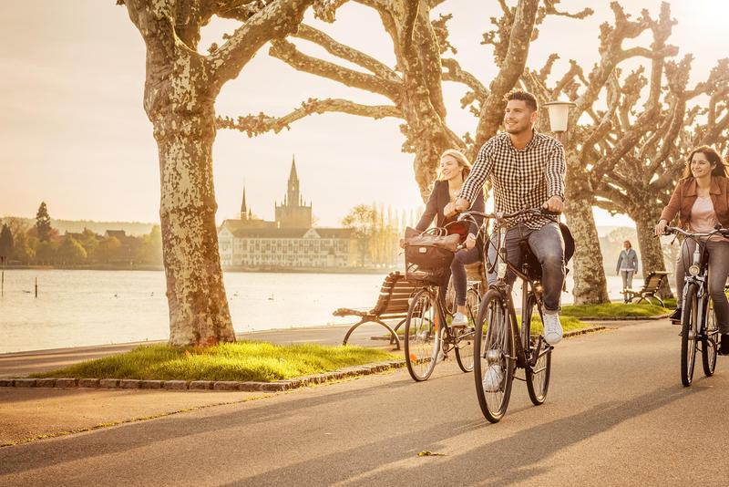 Deutschland Bodensee Konstanz Radfahren c MTK Dagmar Schwelle | BOD60650