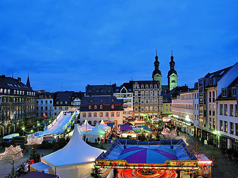 Weihnachtsmarkt in Koblenz   KOG15300