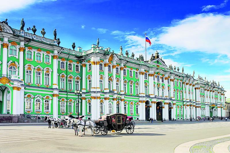 St. Petersburg, Eremitage | RUS15120