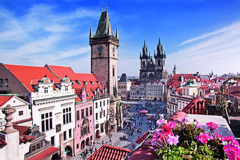 Prag, Rathausplatz | PRG11780