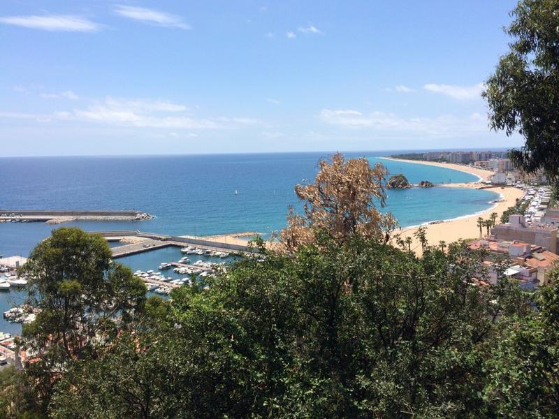 Spanien Costa Brava Bucht bei Blanes | COS11800