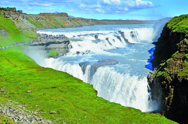 Island Wasserfall Gullfoss (2) | ISM11120