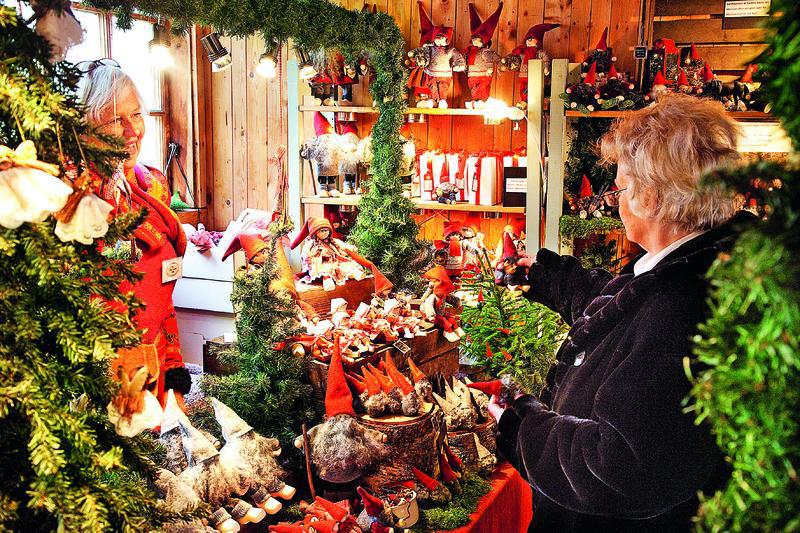Huseby Bruk Schwedens beliebter Julemarked | TRE12300