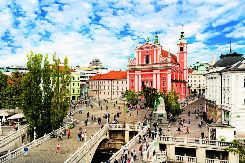 Slowenien, Ljubljana | KRO10100