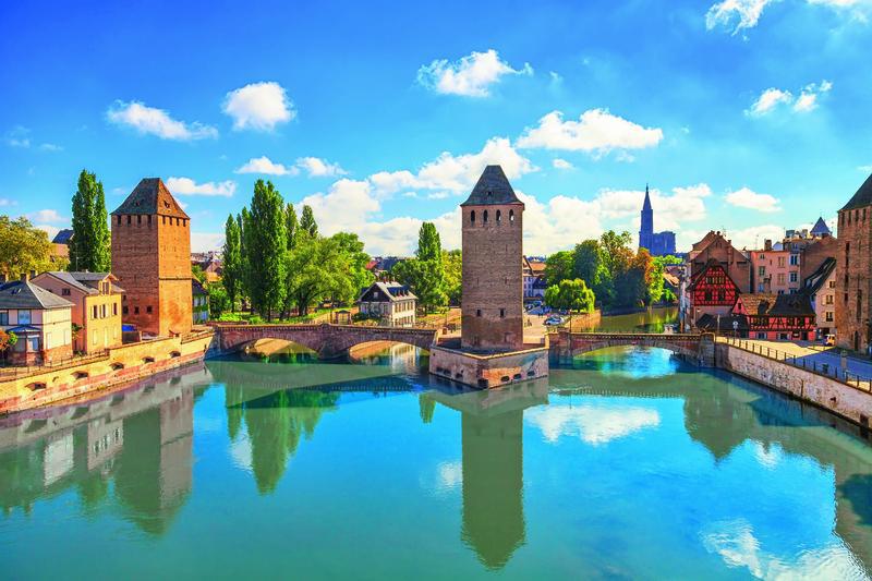 Straßburg, Ponts Couverts   SXB11320