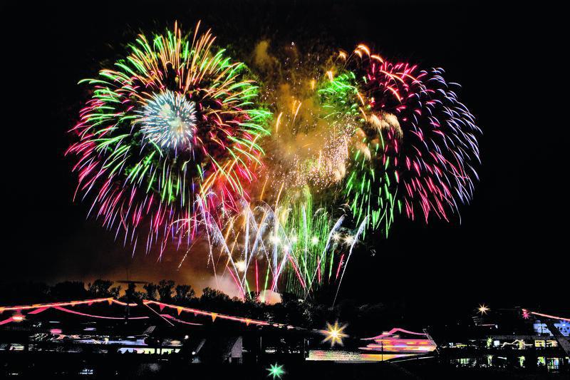 Bonn, Feuerwerk zu Rhein in Flammen   RHN28800