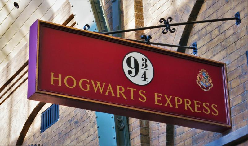 Großbritannien London Harry Potter Gleis9 3 4   LON19400