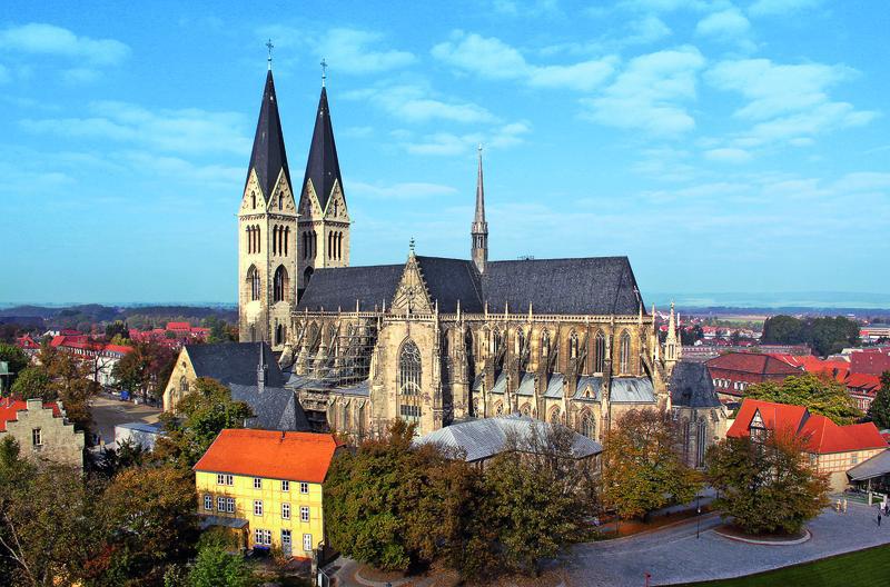 Deutschland Harz Halberstadt Der Dom in Halberstadt 1 | QUE11400