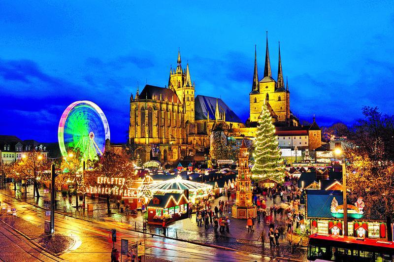 Erfurt, Weihnachtsmarkt | ERF12400