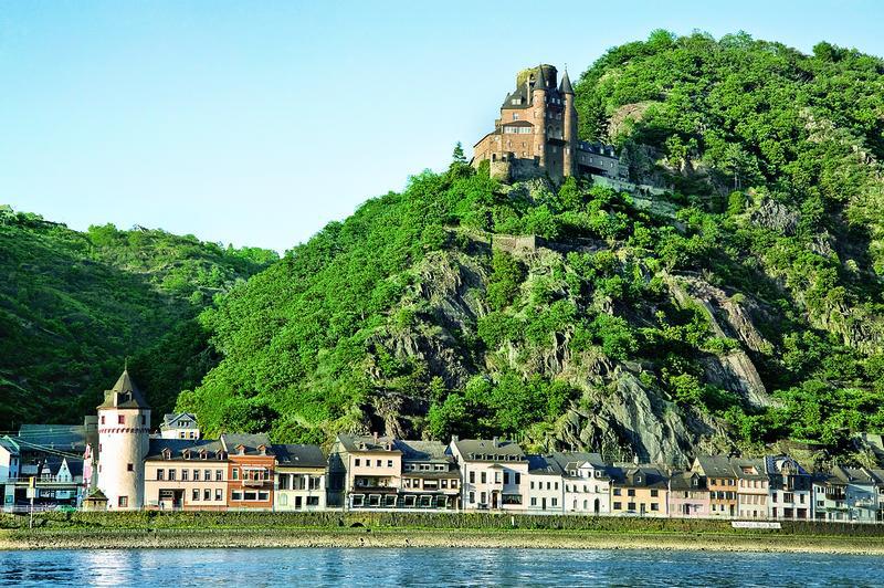 St.Goarshausen, Burg Katz | RHN17100