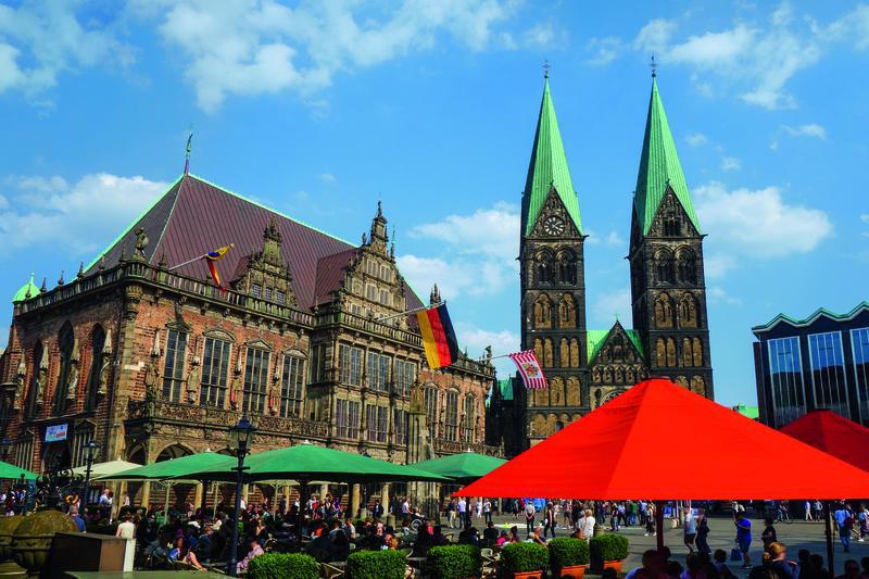 Deutschland Bremen Marktplatz 6065 c BTZ Krause | BRE12300