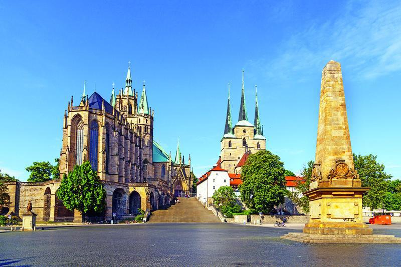 Erfurt, Dom St. Marien und Severikirche | ERF11400