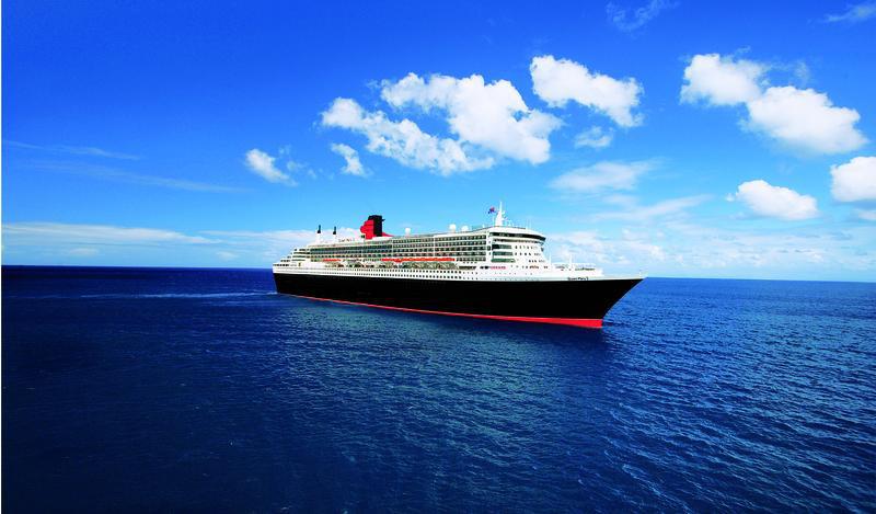 Cunard Queen Mary 2 Aussenansicht quer | QMS12720