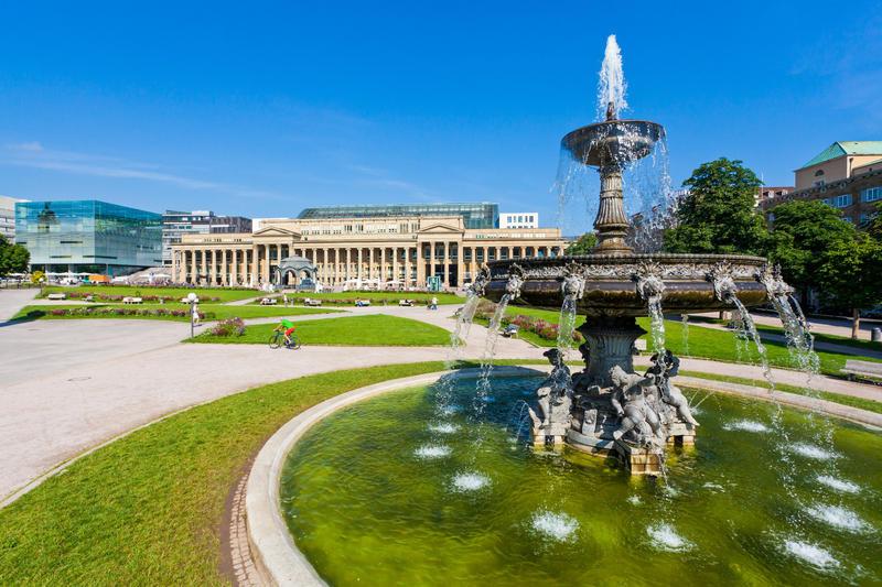 Stuttgart, Schlossplatz | STU12300