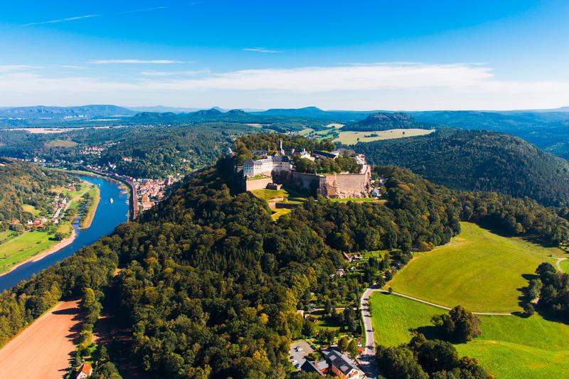 Deutschland Festung Königsstein c PC ProCopter GmbH | DRS25710