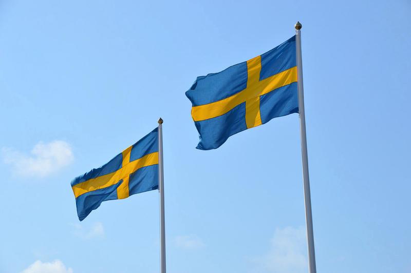 Schweden Flagge Zonista c Volker Haas | ILS10800