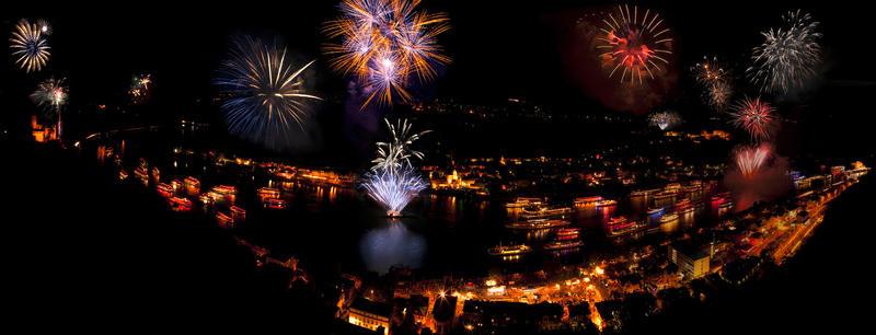 Deutschland St. Goar Rhein in Flammen AdobeStock 427814392   RHN29800